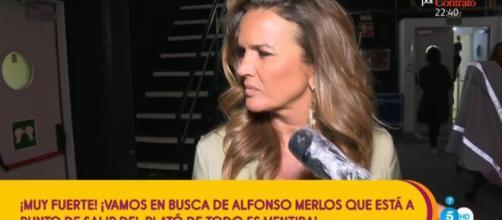 """El reencuentro de Marta López y Alfonso Merlos en el plató de """"Todo es mentira"""""""
