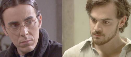 Il Segreto, trame al 9 maggio: Pablo parte per la naia, Matias litiga con Don Filiberto