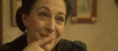 Maria Bouzas, celebre grazie al ruolo di donna Francisca ne 'Il Segreto'.
