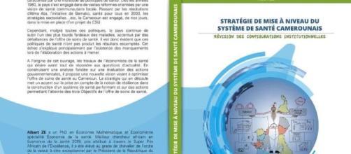 Ouvrage sur la révision du Système de Santé Camerounais par le Dr Albert ze (c) Albert Ze
