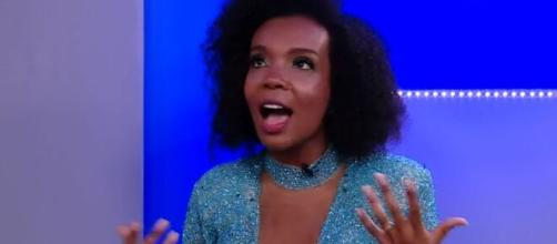 "Thelma celebra vitória na vigésima edição do ""BBB20"". (Reprodução/TV Globo)"