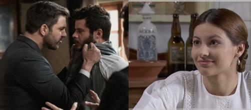 Una Vita, trame all' 8 maggio: Telmo si scontra con Eduardo, Cinta arriva ad Acacias 38.