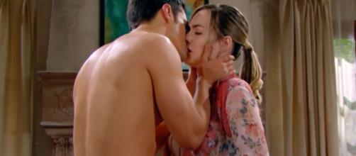 Beautiful, spoiler Usa: Thomas approfitta della fragilità della Logan per baciarla