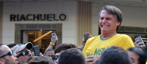 Bolsonaro sofreu atentado em 2018. (Arquivo Blasting News)