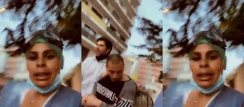 Confinement : une infirmière se fait voler un masque - capture d'écran de la vidéo