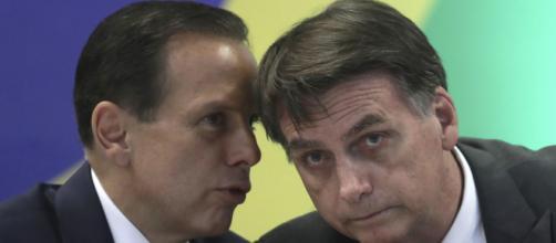 Doria critica Bolsonaro e aumenta rixa entre presidente e governador. (Arquivo Blasting News)
