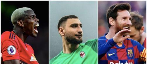 L'époustouflant onze des stars en fin de contrat à l'été 2021. Credit : Instagram/leomessi/paulpogba/gigiodonna99