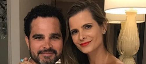 Luciano Camargo e e mulher Flávia Fonseca. (Reprodução/Instagram/@camargoluciano)