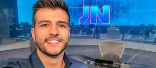 Matheus Ribeiro trocou a TV Anhanguera, afiliada da Globo em Goiás, pela Record de Brasília. ( Arquivo Blasting News )