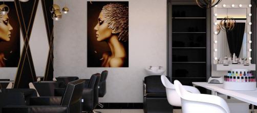 Para salvaguardar la distancia social en las peluquerías, se dejarán sillones vacíos entre los clientes.