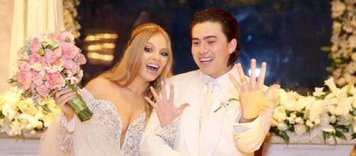 Whindersson e Luisa anunciaram o fim do casamento. (Arquivo Blasting News)