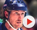 Wayne Gretzky avec les Rangers (Credit : Twitter officiel NHL)