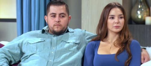 '90 Day Fiance': Anfisa hits back at Jorge Nava over his divorce remarks. [Image Source: TLC/ YouTube]