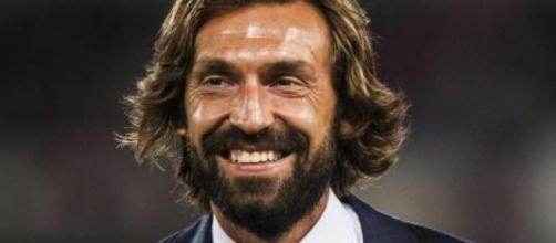 Andrea Pirlo, ex centrocampista della Juventus e del Milan.