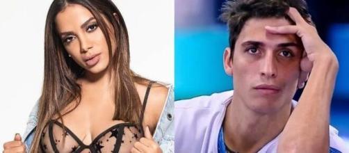 Anitta se defendeu após ter sido criticada por internautas por ter apoiado Prior. (Foto: Montagem/Instagram/Globo).