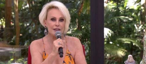 Artista Ana Maria Braga está tratando de um câncer no pulmão. (Reprodução/Tv Globo)