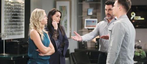 Beautiful, trame dal 5 all'11 aprile: Shauna confessa a Bill che lui è il padre di Flo.