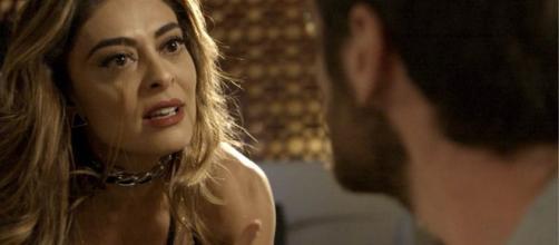 Bibi era interpretada por Juliana Paes. (Reprodução/TV Globo)