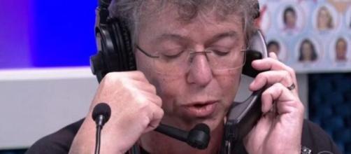 Boninho invade quadro de humor do 'BBB20'. (Reprodução/TV Globo)
