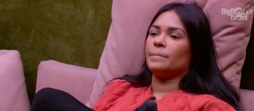Flayslane desabafa com Mari sobre os participantes que restaram. (Reprodução/TV Globo)