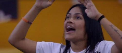 Flayslane é a nova líder do 'BBB20'. (Reprodução/TV Globo)