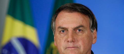 Jair Bolsonaro em entrevista pede apoio da população por meio da fé (Foto: Arquivo Blastingnews)