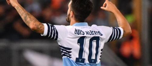 Luis Alberto, centrocampista offensivo della Lazio.