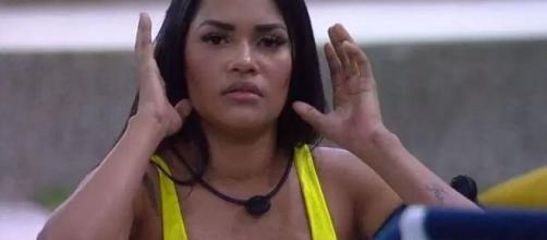 'Não tenho mais forças, muita hipocrisia', desabafa Flayslane sobre sisters. (Reprodução/TV Globo)