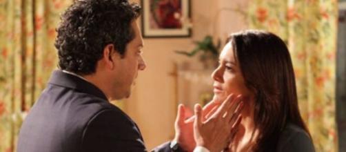 Baltazar e Celeste vão se acertar em 'Fina Estampa'. (Reprodução/TV Globo)