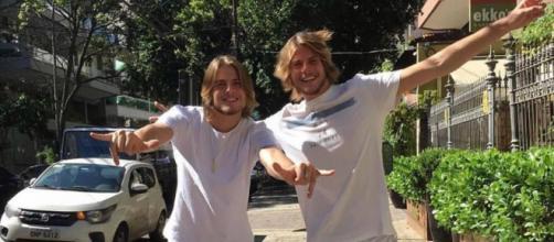 Daniel Lenhardt esquece de dar parabéns para o irmão gêmeo e afirma que ele ficou magoado. ( Arquivo Blasting News )
