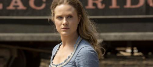 Dolores é interpretada pela atriz Evan Rachel Wood. (Reprodução/HBO)