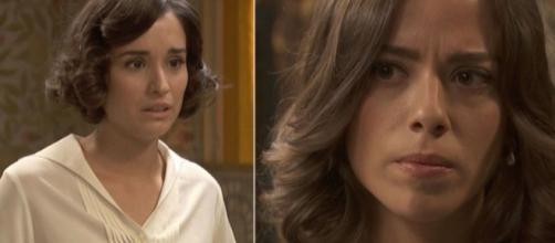 Il Segreto, trame spagnole: Rosa furiosa con Marta per aver baciato Adolfo.