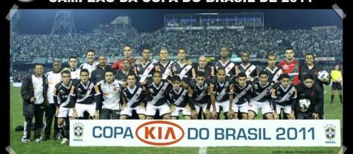 Jogadores campeões da Copa do Brasil de 2011. (Arquivo Blasting News)