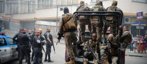 Polícia Militar e morte (Fonte: Blasting)