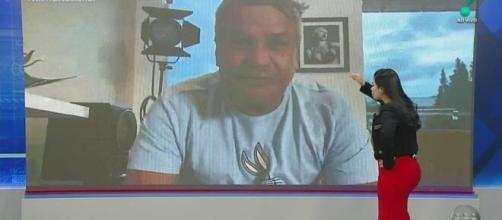 Sikêra Jr. fala pela 1ª vez após contrair coronavírus. (Reprodução/RedeTV!)