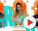 Babu, Gabi e Thelma disputam o paredão. (Reprodução/TV Globo)