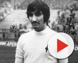 Ezio Vendrame negli anni '70 con la maglia del Lanerossi Vicenza.