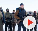 Na foto os atores do filme 'O Declínio' da Netflix. (Reprodução/Netflix)