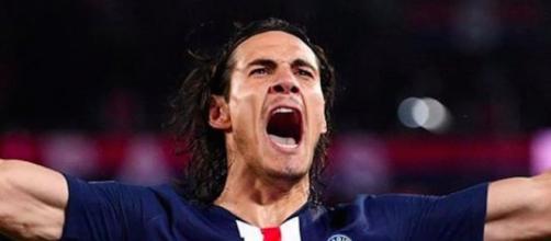 Cavani est l'un des meilleurs buteurs de la Coupe de la Ligue. Credit : Instagram/cavaniofficial21