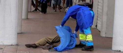 En Ecuador la gente muere en las calles. Foto Data Chaco.