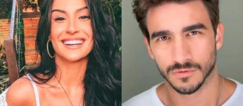 Internet especula se Boca Rosa e Gui estariam juntos; ele nega. (Foto: Montagem/Instagram).