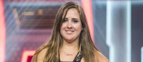 Patrícia ganhou a antipatia do público e foi eliminada com 94,26% dos votos. (Reprodução/TV Globo)