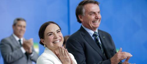 Regina Duarte recebe críticas por defender Bolsonaro a respeito do coronavírus. Foto: Arquivo Blasting News