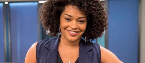 """A ex-BBB Juliana Alves é uma das estrelas da novela """"Salve-se Quem Puder"""". (Reprodução: TV Globo)"""