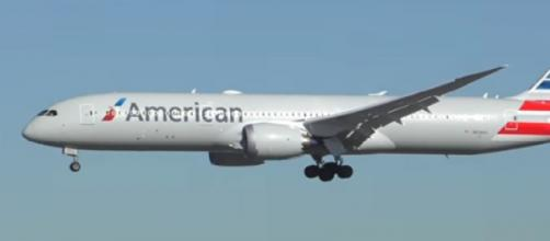 An aircraft of American Airlines. [Image source/Dj's Aviation YouTube video]