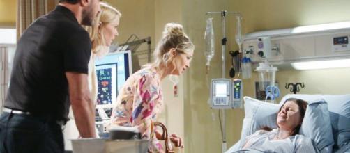 Beautiful, anticipazioni Usa: Katie ha bisogno di un trapianto di rene o perderà la vita