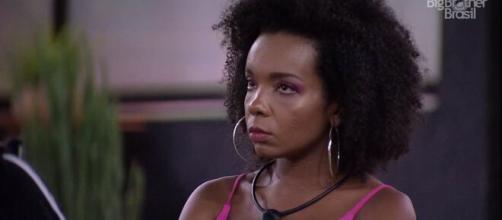 Enquete da UOL aponta a saída de Thelma (Reprodução/TV Globo)