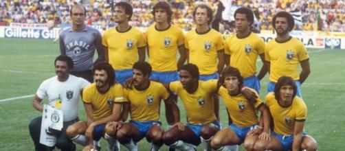 Il Brasile ai Mondiali di Spagna del 1982.