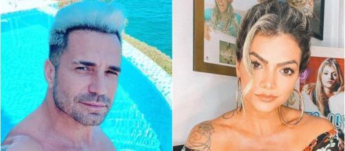 Latino e Kelly Key são pais de Suzanna Freitas. (Reprodução/Instagram/@oficialkellyley/@latino)