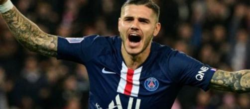 Mauro Icardi, punta del Paris Saint Germain.
